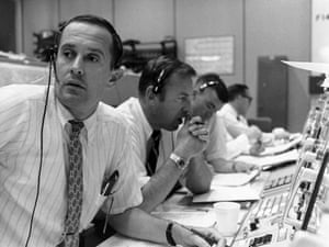 Apollo 11 to the Moon: Flight controllers during lunar module