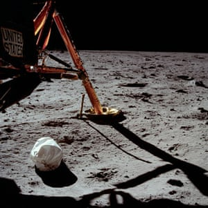 Apollo 11 to the Moon: Armstrong's first photo after setting foot on the Moon