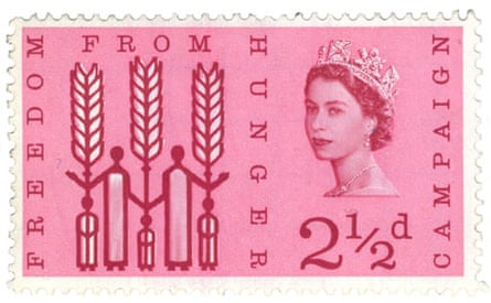 Free From Hunger postal stamp