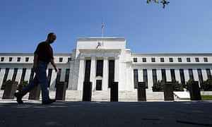 The US Federal Reserve building in Washington DC.