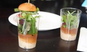 Taste of London - jellied crab at L'Atelier de Joel Robuchon