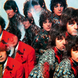 NPG Beatles to Bowie: Pink Floyd (Cover of Piper at the Gates of Dawn),  1967, by Vic Singh