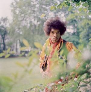 NPG Beatles to Bowie: Jimi Hendrix, 1967, by Fiona Adams