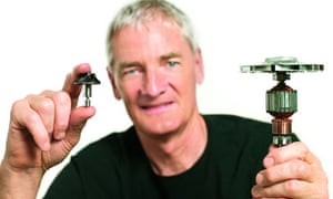 James Dyson and the new Dyson digital motor V2