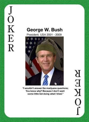 Nice People Take Drugs: Former President George W. Bush