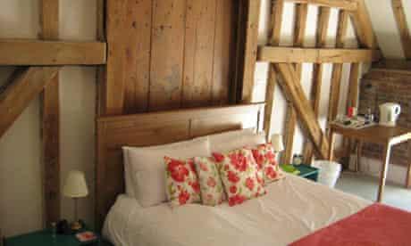 Bedroom at The Stables Hotel, Henham Park