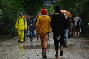 Glastonbury: Day 2: Martin Godwin: day two glastonbury