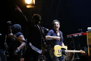 Bruce Springsteen: Bruce Springsteen performs with the E Street Band
