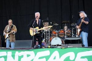 Saturday at Glastonbury: Saturday at Glastonbury 2009: Crosby, Stills and Nash