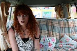 Laura Barton's camper van: Florence And The Machine