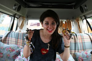Laura Barton's camper van: Marina And The Diamonds