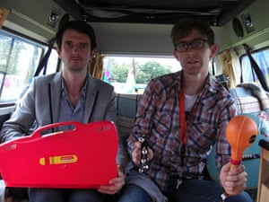 Laura Barton's camper van: The Rakes