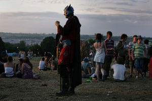 Glastonbury Day 3: Martin Godwin Glastonbury Day 3