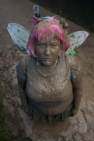 Tanya Gold at Glastonbury: Tanya Gold takes a mudbath