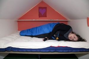 Tanya Gold at Glastonbury: Gold retreats to the Wendy House