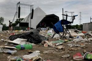 Glastonbury Day 4: Glastonbury festival: Day four Pyramid stage