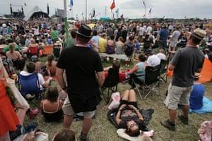 Glastonbury Day 4: Glastonbury festival: Day four Tom Jones