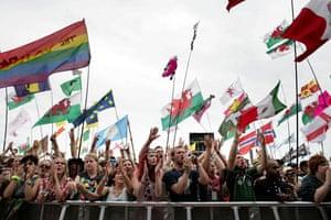 Glastonbury Day 4: Glastonbury festival: Day four