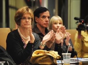Bernard Madoff: Ilene Kent (l) of Madoff Survivors Group