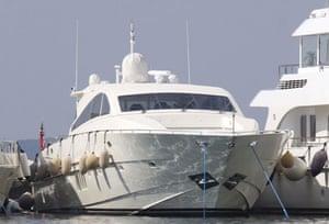 Bernard Madoff: Madoff's yacht 'Bull'