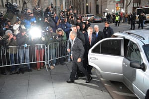 Bernard Madoff: Madoff goes to court