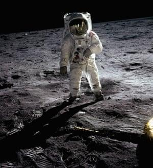 Apollo 11 to Moon: Buzz Aldrin Walking on the Moon