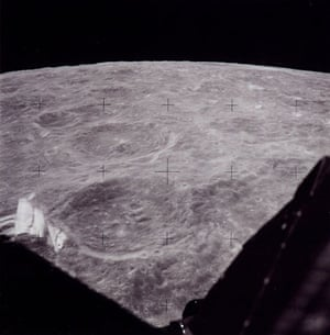 Apollo 11 to Moon: View from Lunar module The Eagle