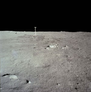 Apollo 11 to Moon: Television camera on lunar surface