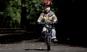 Bike blog: James Sturcke teaching his son to ride