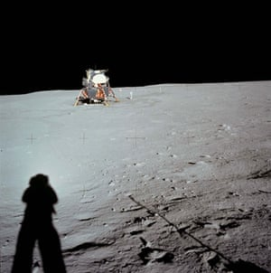 Top Ten Hoax Claims: Apollo 11 landing on moon: Armstrong shadow and LM