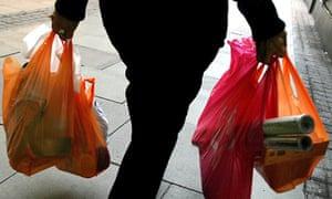 UK plastic bag ban