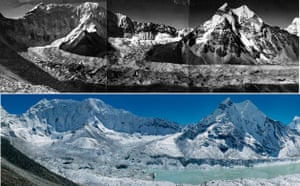 Nepal Glaciers: Climate Change in the Nepalese mountains