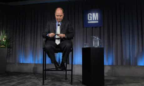 Fritz Henderson, the chief executive and president of General Motors