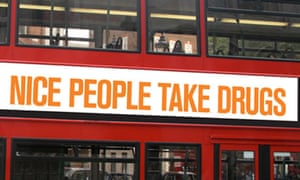 Nice People Take Drugs campaign for drugs policy reform