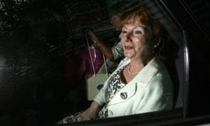 Hazel Blears leaves her London office