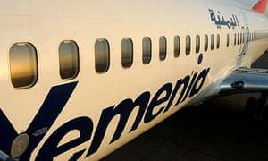 Yemenia air craft