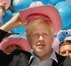 Boris Johnson at Gay Pride