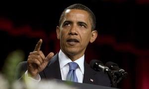 President Barack Obama speaks in the Grand Hall of Cairo University in Cairo