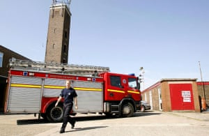 European elections: Bromborough fire station in the Wirral