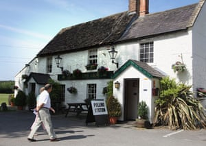 European elections: Voters arrive at the Poplars Inn polling station in Wingfield