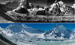 Himalayan glaciers disappear as world warms up: Imja glacier