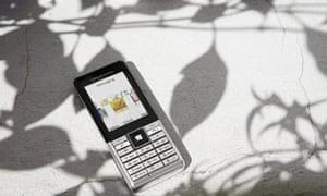 Naite Vapor,a Sony Ericcson GreenHeart phone