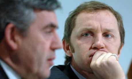 Gordon Brown and James Purnell in 2008
