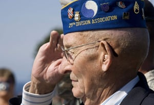 D-Day Memorial: Veterans Gather To Commemorate The 65th Anniversary Of The D-Day Landings
