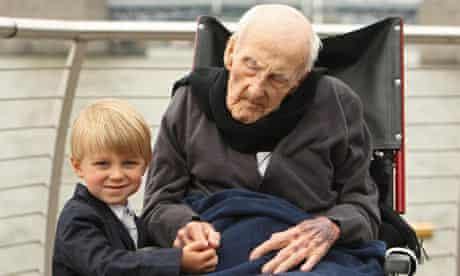 Henry Allingham celebrates 113th birthday