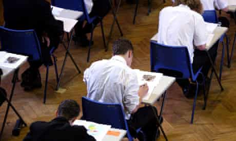 GCSE exams, Maidstone Grammar School, Kent