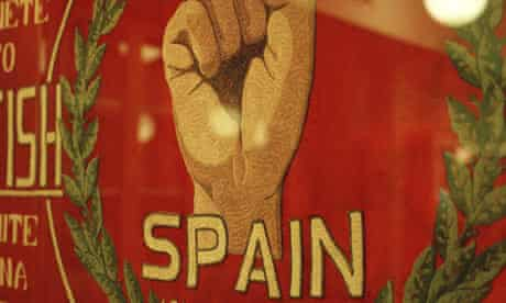 International Brigade flag