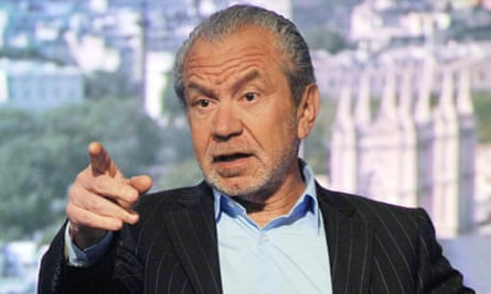 Sir Alan Sugar appear on 'The Andrew Marr Show'