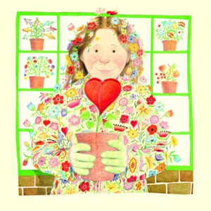 Anthony Browne: My Mum, illustration by Anthony Browne
