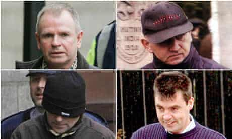 Omagh accused: Colm Murphy, Michael McKevitt, Liam Campbell, Seamus Daly
